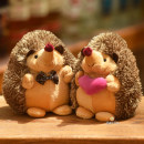 Plush cloth toys 2 years old, 3 years old, 4 years old, 5 years old, 6 years old, 7 years old, 8 years old, 9 years old, 10 years old, 11 years old, 12 years old, 13 years old, 14 years old and above hedgehog Canon love Plush Doll PP cotton Doll domestic D -- Hedgehog other nothing