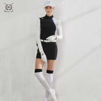 Golf apparel Black coat, black skirt, white coat, red trousers, black coat + black skirt, white coat + red trousers XXL,L,XL,S,M female BLK TEE Long sleeve T-shirt 19055+19067