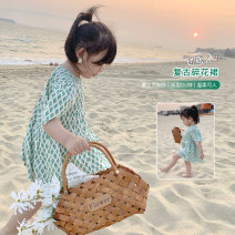 Dress Picture color female LSHUYU BABY 80, 90, 100, 110, 120, 130, 140 Other 100% summer Korean version Skirt / vest other cotton Lotus leaf edge D04-01 other 12 months, 6 months, 9 months, 2 years, 3 years, 4 years, 5 years, 6 years