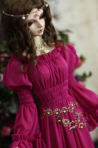 BJD doll zone suit 1/3 Over 14 years old Customized A single dress, a full dress with jewelry