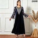 Dress Winter 2020 dark blue M,L,4XL,XL,XXXL,XXL A9979#