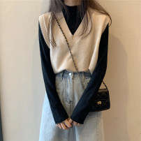 Fashion suit Spring 2021 S,M,L White, apricot, black, fruit green, ginger, pink, white, black and jeans Under 17 rp 0.8.. 71% (inclusive) - 80% (inclusive)