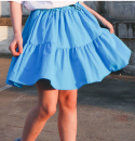 skirt Other / other Other 100% 2, 3, 4, 5, 6, 7, 8, 9, 10, 11, 12, 13, 14 years old female Solid color summer Korean version skirt cotton White, blue, black 5 90cm, 7 100cm, 9 110cm, 11 120cm, 13 130cm, 15 140cm, 17 150cm, 19 160cm