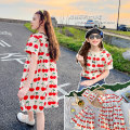 Dress Dress, short sleeve, skirt female Chuni Size 110, Size 120, Size 130, size 140, size 150, size 160, [warm tips] don't be greedy Cotton 100% summer Korean version Skirt / vest other cotton other LY668 Class B Four, five, six, seven, eight, nine, ten, eleven, twelve, thirteen, fourteen Hangzhou