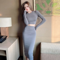 Fashion suit Spring 2021 S,M,L Grey, green, black 18-25 years old