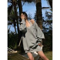 Fashion suit Spring 2021 XS,S,M,L Black, smoke grey, smoke grey (second batch), black (second batch) 25-35 years old ACSENSE 21n032621483 31% (inclusive) - 50% (inclusive) cotton