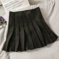 skirt Autumn 2020 S, M black Short skirt 18-24 years old A279728 30% and below other other