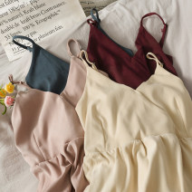 Dress Autumn 2020 Black, red, blue, khaki, apricot, pink Average size singleton  Long sleeves camisole 18-24 years old A278679 30% and below other