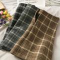 skirt Autumn 2020 S,M,L,XL Black, gray, khaki Short skirt High waist 18-24 years old A278840 30% and below other