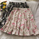 skirt Summer 2021 Average size Black, pink Short skirt High waist A-line skirt 18-24 years old 30% and below other other
