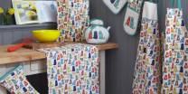 apron PVC apron has local color and odor, single glove 30x33cm, two-way glove 20x90cm, teapot bag 23x16cm, meal mat 20x22cm