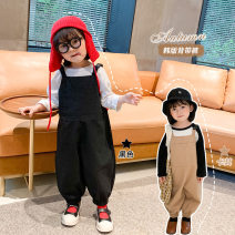 trousers Other / other neutral 120cm,130cm khaki spring and autumn trousers Korean version There are models in the real shooting rompers Pure cotton (100% content) Cotton 100% Class B 2 years old, 3 years old, 4 years old, 5 years old, 6 years old