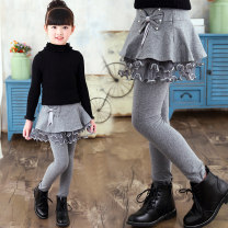 trousers Other / other female No season trousers leisure time There are models in the real shooting Leggings Leather belt High waist cotton Class B 2, 3, 4, 5, 6, 7, 8, 9, 10, 11, 12 years old Chinese Mainland Guangdong Province Foshan City