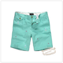trousers Teenie Weenie male S/165,M/170,L/175,XL/180 green summer Pant Britain No model middle-waisted cotton Cotton 100% Class B model 10 years old