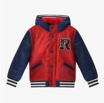 Cotton padded jacket male nothing other E·LAND KIDS Red 020 120cm,130cm,140cm Zipper shirt college No model other other other RKBW63196 10 years old