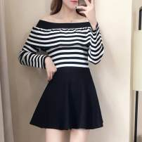 Casual suit Spring 2021 Striped single top S,L,M,XL 9157# Other / other