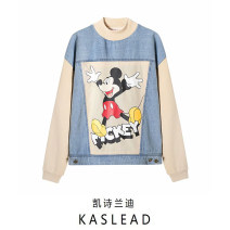 Sweater / sweater Autumn 2020 Beige S,M,L Long sleeves routine Socket Crew neck easy street routine Cartoon animation 71% (inclusive) - 80% (inclusive) printing Europe and America