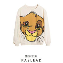 Sweater / sweater Spring 2021 Beige S,M,L Long sleeves routine Socket Crew neck street routine Cartoon animation Europe and America