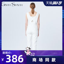 Jumpsuit / pants 51% (inclusive) - 70% (inclusive) Ninth pants other low-waisted street White, black routine Winter of 2018 zipper