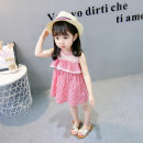 Dress female Other / other Other 100% summer Korean version Skirt / vest lattice other other Class B 12 months, 18 months, 2 years old, 3 years old, 4 years old, 5 years old Chinese Mainland