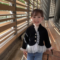 Suit / Blazer black 80cm,90cm,100cm,110cm,120cm,130cm Other / other female There are models in the real shooting Korean version spring and autumn Solid color Single breasted routine other Class B 2 years old, 3 years old, 4 years old, 5 years old, 6 years old, 7 years old