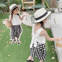 suit Other / other As shown in the figure 80cm,90cm,100cm,110cm,120cm,130cm female summer Korean version Sleeveless + pants 2 pieces routine No model Socket nothing other other elder Expression of love Class B Other 100% 18 months, 2 years old, 3 years old, 4 years old, 5 years old, 6 years old