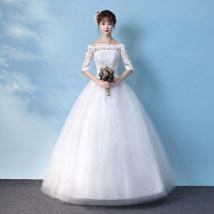 Wedding dress Fall 2017 Custom 3-5 days delivery XXL XXXL s ml XL Other / other