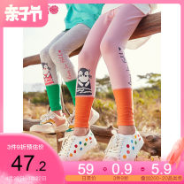 trousers Pptown / Baba town female 110cm 120cm 130cm 140cm 150cm 160cm 165cm 170cm summer trousers motion There are models in the real shooting Leggings Leather belt middle-waisted cotton Don't open the crotch Cotton 93.2% polyurethane elastic fiber (spandex) 6.8% Class B Spring 2021 Chinese Mainland
