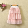 skirt 90cm,100cm,110cm,120cm,130cm,140cm,150cm Other / other female Other 100% summer skirt Korean version Solid color Cake skirt cotton other