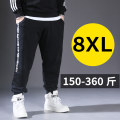 Casual pants True story of a pang Youth fashion routine trousers Other leisure easy get shot Four seasons Large size Youthful vigor 2021 Medium high waist Little feet Sports pants Inlay / stick washing stripe cotton cotton Fashion brand 70% (inclusive) - 79% (inclusive)