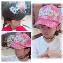 Hat Average size Gold Silver Black Pink Sky Blue Sapphire 2-9 years old 50-54cm adult 55-60cm neutral peaked cap dome Travel Other / other Wide eaves