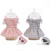 Pet clothing / raincoat currency skirt The length of XS chest 25 is about 1.5 kg, s chest 30 is about 2-3 kg, m chest 35 is about 3-5 kg, l chest 40 is about 5-7 kg, XL chest 45 is about 8-10 kg Other / other princess Meimei Uniform Skirt Pink, Meimei uniform skirt gray