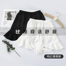 Women's large Summer of 2019 Black and white Large XL Large XXL large XXXL large trousers singleton  commute Korean version have cash less than that is registered in the accounts A184 Bdodo / loser Polyester 100% Pure e-commerce (online only)