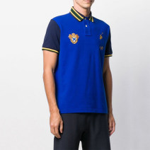 Polo shirt Other / other Youth fashion routine Sapphire blue, dark blue, blue black S. M, l, XL, XS, m (as shown in the picture) 109 yuan, l (as shown in the picture) 109 yuan, XL (as shown in the picture) standard Other leisure summer Short sleeve American leisure routine Solid color cotton washing