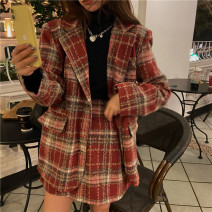 Fashion suit Winter 2020 Average size Suit jacket, skirt 18-25 years old Other / other 81% (inclusive) - 90% (inclusive) polyester fiber