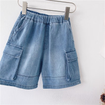 trousers Other / other neutral 90cm,100cm,110cm,120cm,130cm,140cm,150cm blue summer Pant leisure time No model Casual pants Leather belt middle-waisted Denim Don't open the crotch other other 18 months, 2 years old, 3 years old, 4 years old, 5 years old, 6 years old, 7 years old, 8 years old