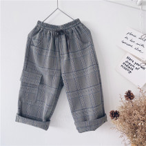 trousers Other / other neutral 90cm,100cm,110cm,120cm,130cm,140cm,150cm lattice spring and autumn trousers leisure time No model Casual pants Leather belt middle-waisted other Don't open the crotch other other