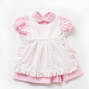 Dress Two piece maid suit Other / other female 80cm 90cm 100cm 110cm Other 100% spring and autumn princess Solid color other