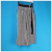 skirt Summer of 2019 M, L Black and white bar
