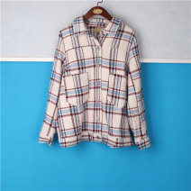 Fashion suit Spring 2021 XL,5XL Red white blue check