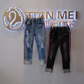 trousers Other / other female 5 (90cm), 7 (100cm), 9 (110cm), 11 (120cm), 13 (130cm), 15 (140cm), 17 (150cm) spring and autumn trousers No model Leather belt middle-waisted cotton Don't open the crotch Cotton 50% polyester 50% Autumn pants Class B Autumn pants Chinese Mainland