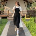 Fashion suit Summer 2021 S. M, average size Black and white suspender skirt, white T-shirt 18-25 years old Other / other ysg7628 91% (inclusive) - 95% (inclusive)