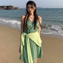 Fashion suit Summer 2021 Average size Cardigan, suspender skirt 18-25 years old Other / other ZXJ5332 30% and below