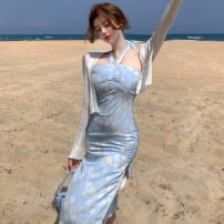 Fashion suit Summer 2021 Average size Cardigan, dress 18-25 years old Other / other ZXJ6388 30% and below