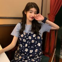 Fashion suit Summer 2021 Average size 1223 short sleeve one piece, 1222 dress one piece 18-25 years old Other / other ysg7999