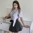 Fashion suit Summer 2021 S, M Jacket, skirt 18-25 years old Other / other ZXJ5537 30% and below