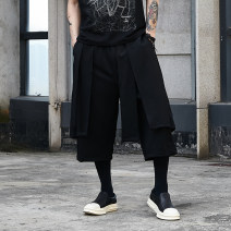 Casual pants Others other black Average size routine Ninth pants Other leisure easy get shot X042P85 summer teenagers 2019 Cotton 65% pet 32% viscose 3% No iron treatment cotton 80% (inclusive) - 89% (inclusive)