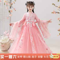 Tang costume 100 110 120 130 140 150 160 Polyester 100% female No season There are models in the real shooting routine 2 years old, 3 years old, 4 years old, 5 years old, 6 years old, 7 years old, 8 years old, 9 years old, 10 years old, 12 years old, 13 years old, 14 years old Chinese Mainland