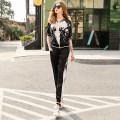 Fashion suit Summer 2021 M,L,XL,XXL Flower + Black 25-35 years old RMO&JUL 31% (inclusive) - 50% (inclusive) polyester fiber
