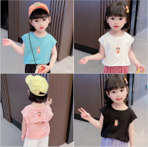 T-shirt White, pink, black, peacock blue Other / other 80cm,90cm,100cm,110cm,120cm,130cm female spring and autumn Crew neck Korean version There are models in the real shooting nothing cotton Solid color Other 100% Seven, eight, three, six, two, five, four, nine Chinese Mainland